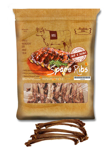 Absolute Bites - Air Dried Spare Ribs (380g) | Treats