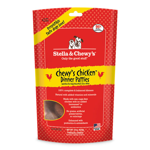 Stella & Chewy's Chewy's Chicken Freeze Dried Dog Food 15oz | Freeze Dried Food