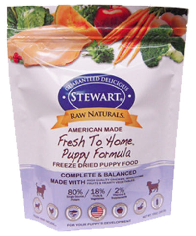 Stewart® Raw Naturals™ Freeze Dried Puppy Recipe 12oz | Freeze Dried Food