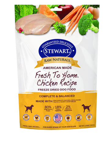 Stewart® Raw Naturals™ Freeze Dried Chicken Recipe 12oz | Freeze Dried Food