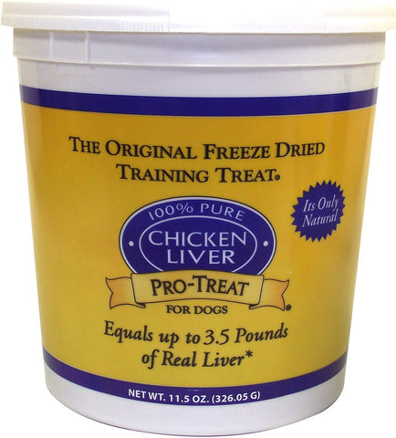 Stewart Pro-Treat® Freeze Dried Chicken Liver Treats 11.5oz | Treats