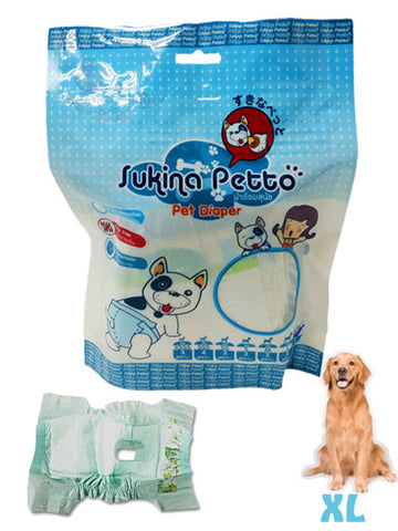 Sukina Petto Anti Bacterial Pet Diaper | Toilet Needs