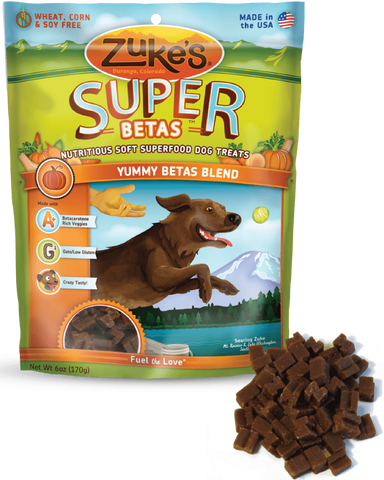 Zuke's: Nutritious Soft Superfood Dog Treats (Yummy Betas Blend) 170g | Treats