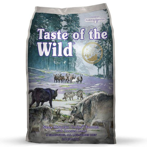 Taste Of The Wild - Sierra Mountain Canine Dog Formula With Roasted Lamb | Dog Dry Food
