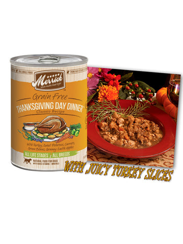 Merrick Grain Free Thanksgiving Day Dinner 374g | Wet Food