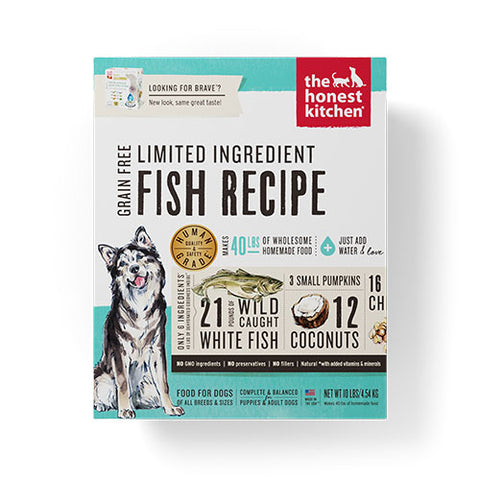 The Honest Kitchen Brave (Fish & Coconut, Grain Free)