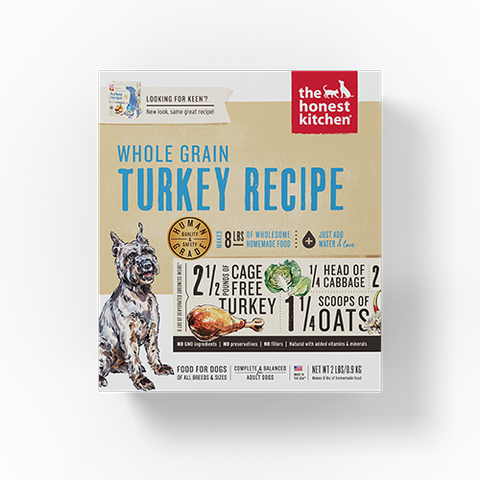 The Honest Kitchen Keen (Turkey, Whole Grain)