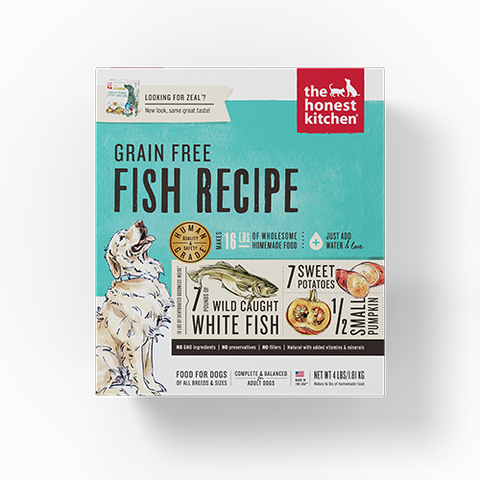 The Honest Kitchen Zeal (Fish, Grain Free)