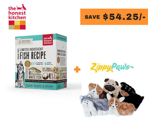 [Bundle Of Joy] The Honest Kitchen X Zippypaws Pups