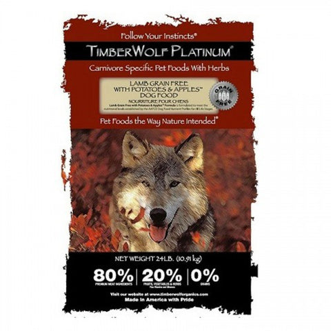 TIMBERWOLF – Platinum Formula (GRAIN FREE) Lamb, Potatoes & Apples Formula Dry Dog Food | Dog Dry Food - 1