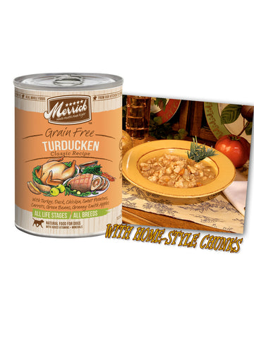Merrick Grain Free Turducken 374g | Wet Food