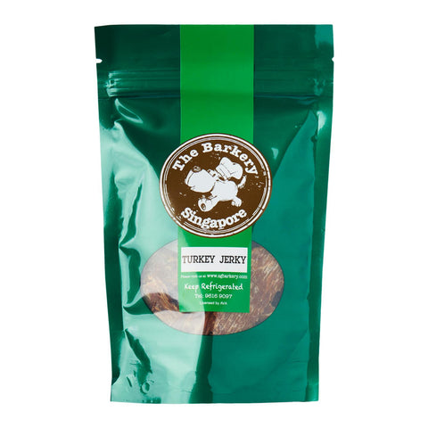 The Barkery Singapore - Turkey Jerkey Dehydrated Treats (50g) | Treats - 1