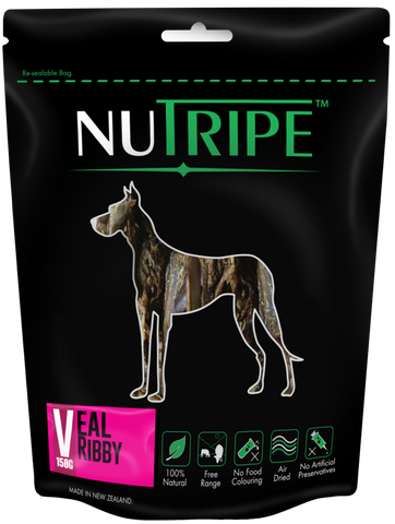 Nutripe Veal Ribby (150g) | Treats