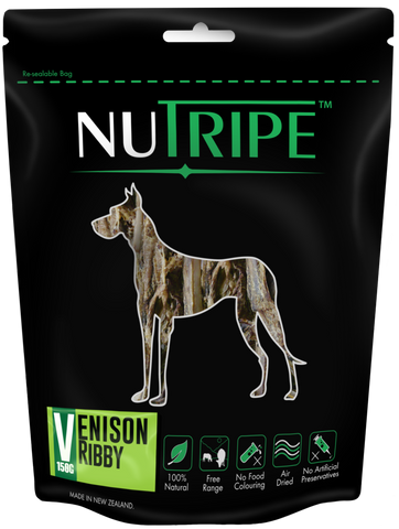 Nutripe Venison Ribby (150g) | Treats