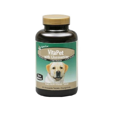 NaturVet VitaPet® with Glucosamine Time Release | Canine Supplements