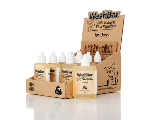Washbar 100% Natural Flea Repellent (40ml) | Grooming - 1