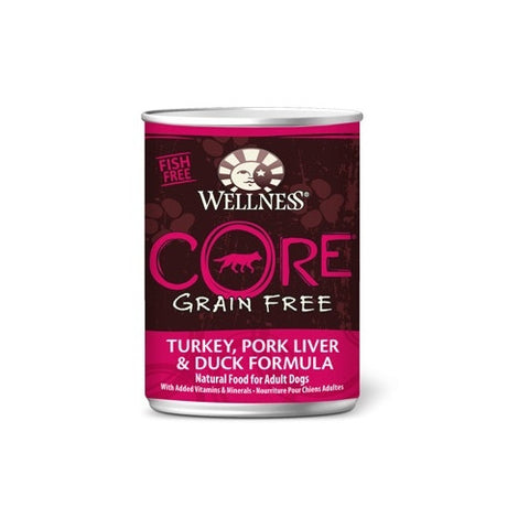 Wellness Core - Grain Free Turkey, Pork Liver And Duck Canned Dog Food | Wet Food