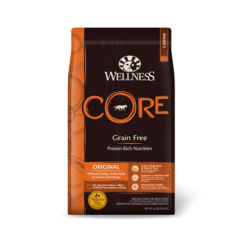 Wellness Core - Grain Free Original Dry Dog Food | Dog Dry Food