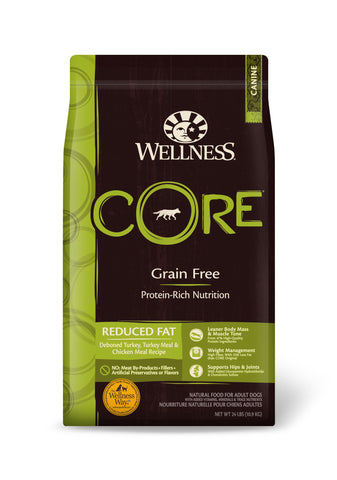 Wellness Core - Grain Free Reduced Fat Dry Dog Food | Dog Dry Food