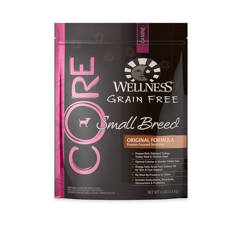 Wellness Core - Grain Free Small Breed Dry Dog Food | Dog Dry Food