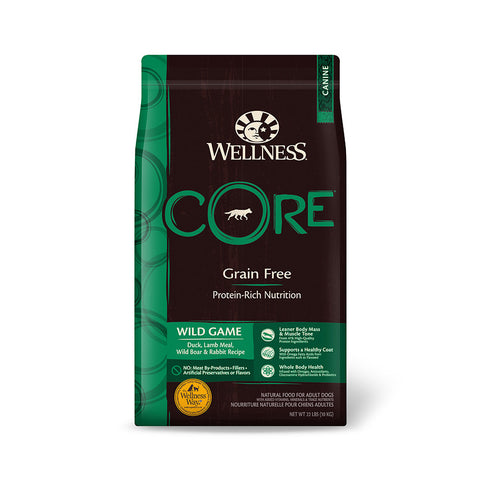 Wellness Core - Grain Free Wild Game Dry Dog Food | Dog Dry Food