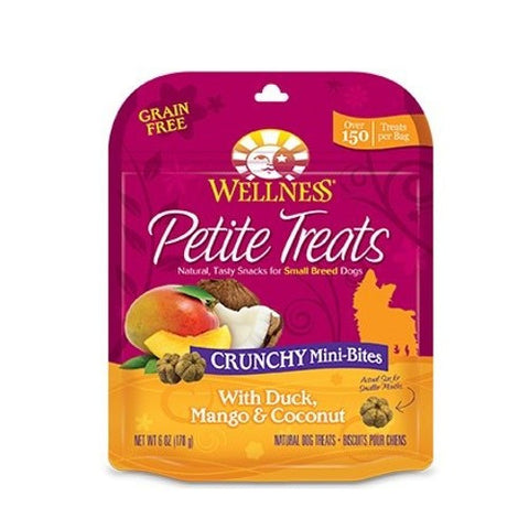 Wellness® Petite Treats Soft Mini-Bites With Duck, Mango & Coconut | Treats