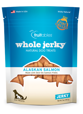 Fruitables Whole Jerky Alaskan Salmon 5oz | Treats