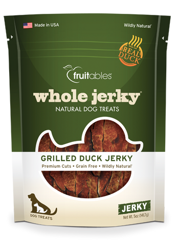 Fruitables Whole Jerky Grilled Duck 5oz | Treats