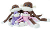 ZIPPYPAWS - SPENCER CRINKLE MONKEY DOG TOY