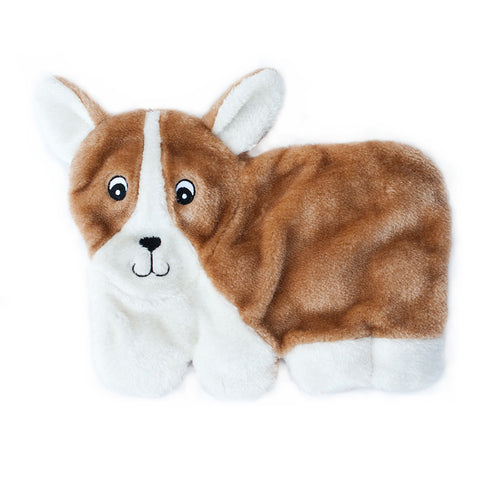 Zippypaws Squeakie Pups - Corgi (No Stuffing) | Toy - 1