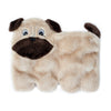 Zippypaws Squeakie Pups - Pug (No Stuffing) | Toy - 1