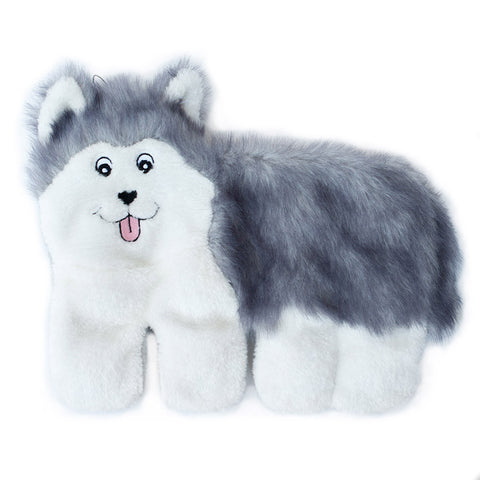 Zippypaws Squeakie Pups - Husky (No Stuffing) | Toy - 1