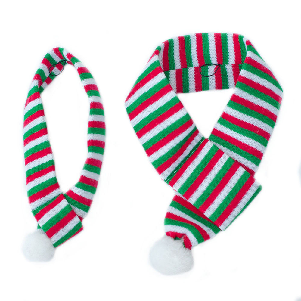 Christmas Scarf.Zippypaws Christmas Specials Scarf The Loyal One Your Favourite Online Pet Store