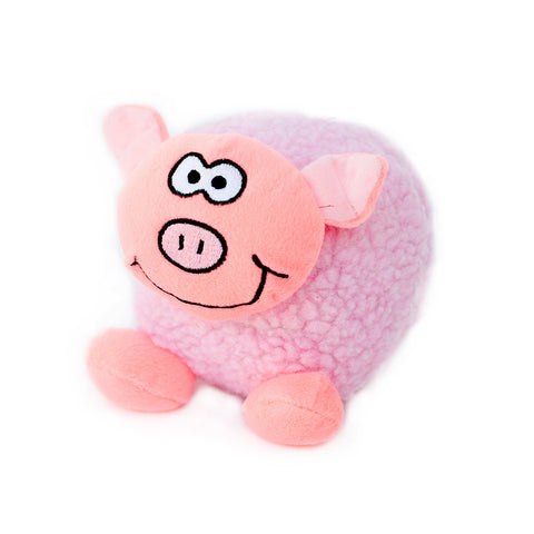 Zippypaws - Tubbiez Pig Dog Toy