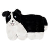 Zippypaws Squeakie Pups - Border Collie (No Stuffing) | Toy - 1