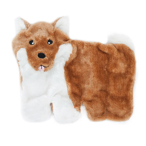 Zippypaws Squeakie Pups - Shiba Inu (No Stuffing) | Toy - 1