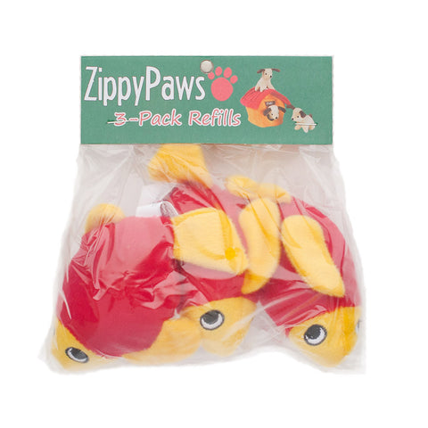 Zippypaws Burrow Refills - Fish | Toy - 1