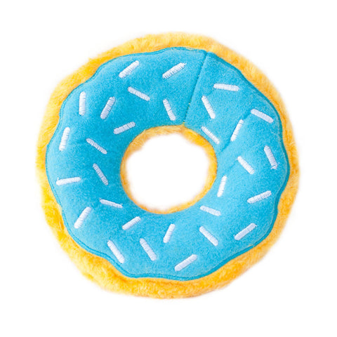 Zippypaws - Donutz Blueberry (No Stuffing) | Toy - 1