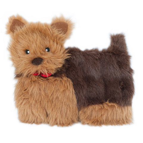 Zippypaws Squeakie Pups - Yorkie (No Stuffing) | Toy