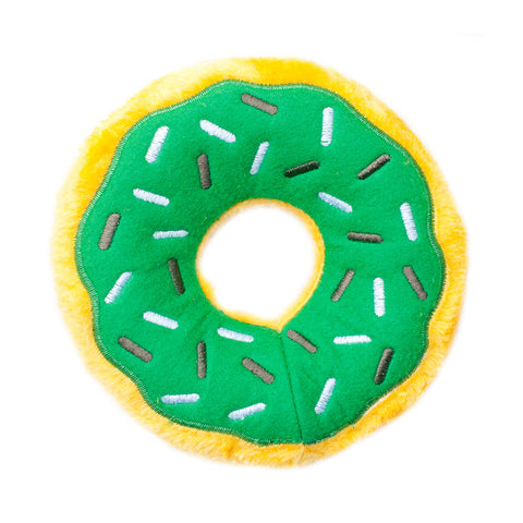 Zippypaws - Donutz Mint Chip Dog Toy