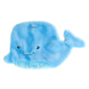 Zippypaws - Squeakie Flattiez Wiley the Whale Dog Toy