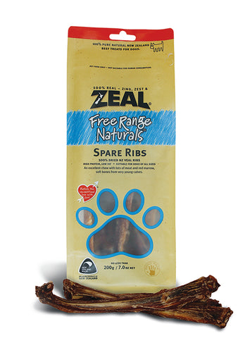 Zeal Natural Veal Spare Ribs 200g