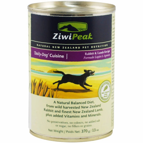 ZiwiPeak Daily-Dog Rabbit & Lamb Cuisine Canned Dog Food | Wet Food