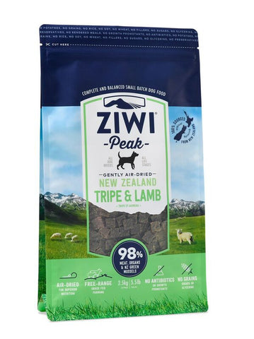ZiwiPeak Daily-Dog Tripe And Lamb Cuisine Air-Dried Dog Food