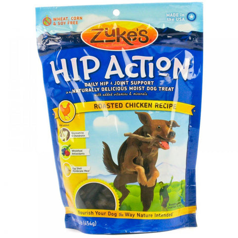 Zuke's - Hip Action Treats with Glucosamine (Chicken) 170g | Treats