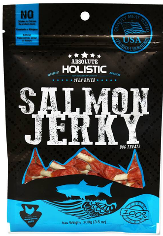 Absolute Holistic Grain Free Salmon Dumbbell | Treats