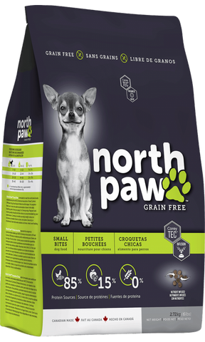 North Paw Dry Dog Food (Small Bites)