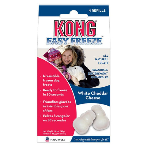 Kong Easy Freeze Refills (White Cheddar Cheese) | Treats