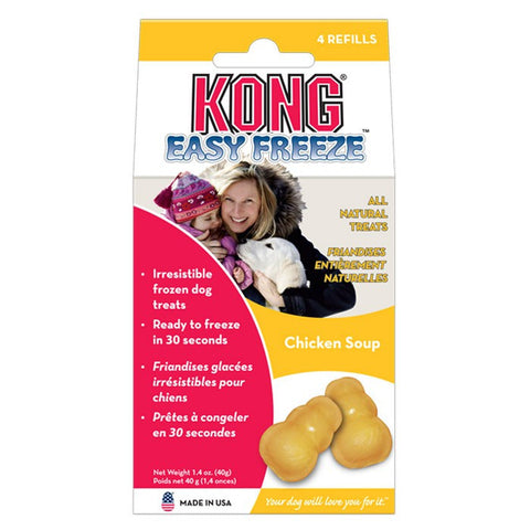 Kong Easy Freeze Refills (Chicken Soup) | Treats