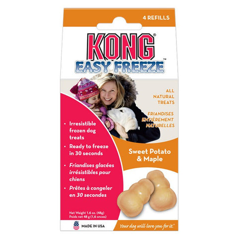 Kong Easy Freeze Refills (Sweet Potato & Maple) | Treats